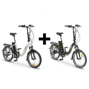 ZESTAW ECOBIKE EVEN BLACK,...