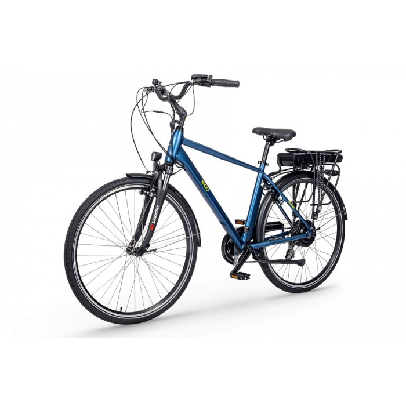 rower elektryczny Ecobike Trafik Men niebieski