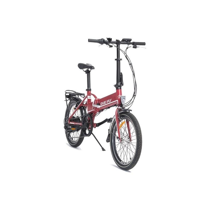 składany rower elektryczny Overfly Zing