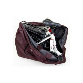 rower elektryczny Overfly Zing kompatkowy i składany