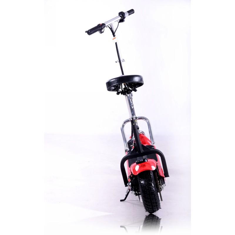 Elektryczna hulajnoga FRUGAL Basic - czerwona z siedziskiem