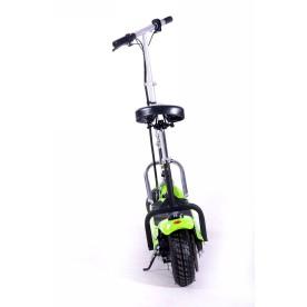 Elektryczna hulajnoga FRUGAL Basic - zielona z siedziskiem