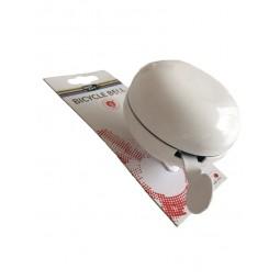 Dzwonek DING DONG, 80mm, biały
