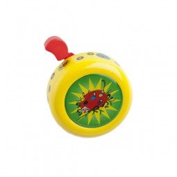 Dzwonek CAMPANELLO 50mm, żółty