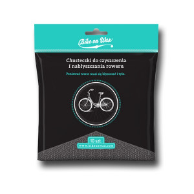 Chusteczki do Czyszczenia i Nabłyszczania Roweru - Bike on Wax