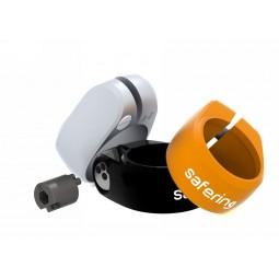 Safering Allure Keycode black 28,6 mm - zabezpieczenie siodła