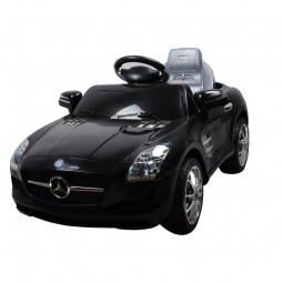 Samochód na akumulator Mrcedes SLS AMG czarny