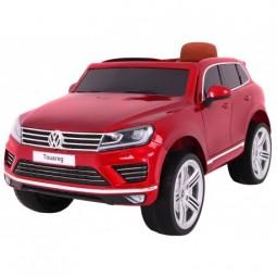 Samochód na akumulator Lakierowany Volkswagen Touareg - czerwony