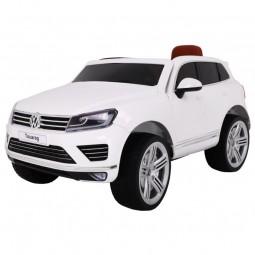 Samochód na akumulator Lakierowany Volkswagen Touareg - biały