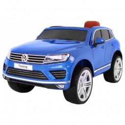 Samochód na akumulator Lakierowany Volkswagen Touareg - niebieski