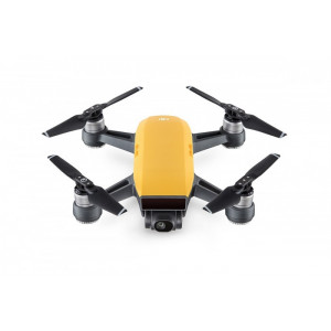 DRON DJI SPARK SUNRISE YELLOW FLY MORE COMBO
